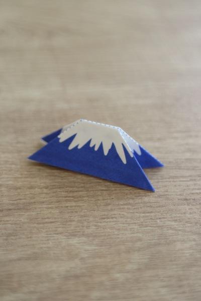 富士山の箸置き完成