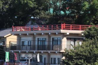 多摩川浅間神社の見晴らし台