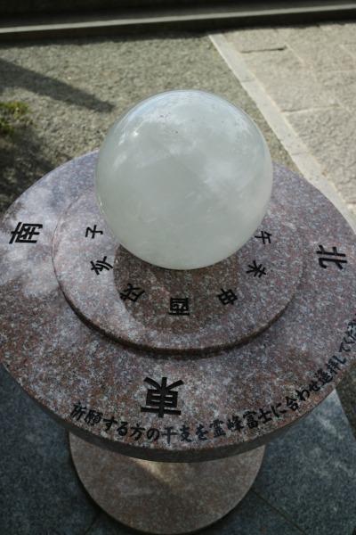 干支を霊峰富士の方角に合わせる