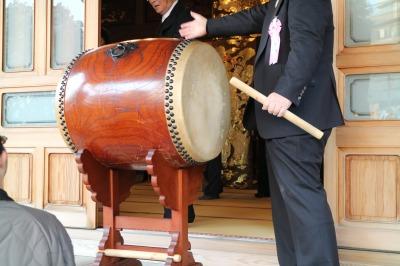 年男の太鼓