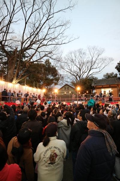 丸子山王日枝神社の「節分祭」