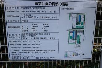 JFE社宅跡地の「事業計画の構想の概要」
