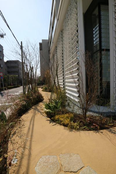 歩道状のスペース