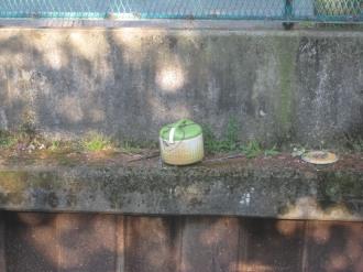 前回投棄されていた炊飯器