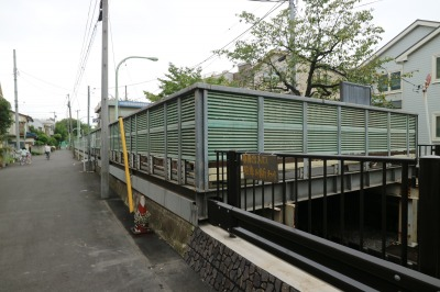 渋川上部の「元住吉駅周辺自転車等駐車場第1施設」