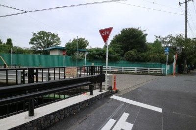 矢倉橋から、これまでの整備区間方面
