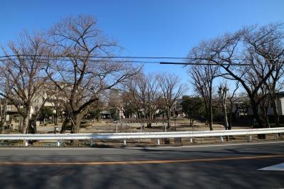 無量寺向かいの「中丸子児童公園」