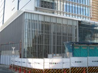 (仮称)武蔵小杉新駅前ビル北棟の低層部