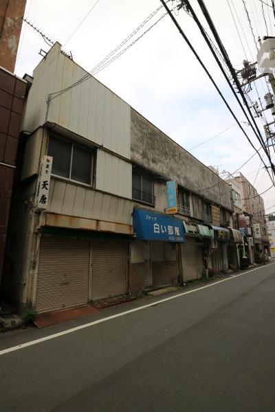 「白い部屋」が営業していた建物