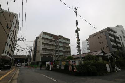 5階建てマンション建設予定地