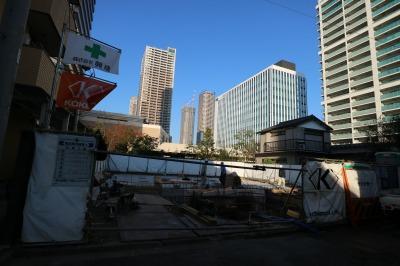 「(仮称)武蔵小杉東口駅前ビル」の建設地」