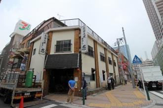 「お好み焼 忍」の旧店舗および住宅