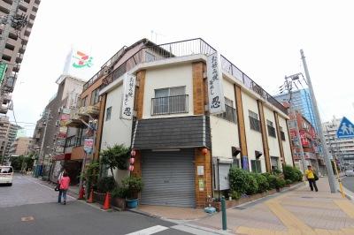 かつての「忍」の建物