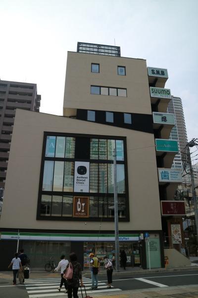 武蔵小杉駅前の「S.N.Bビルディング」