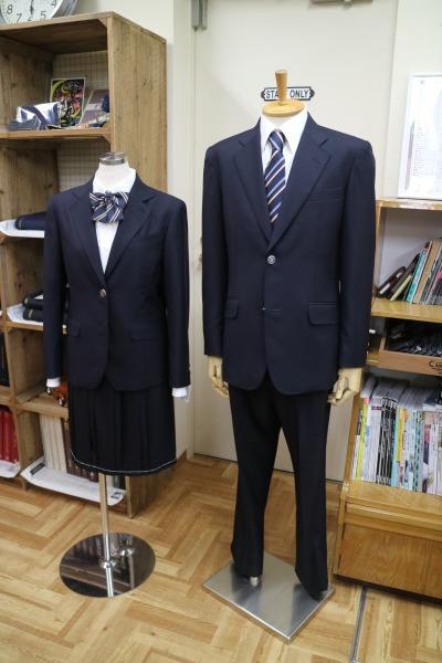 「仕立館」の手による法政二中・高の制服