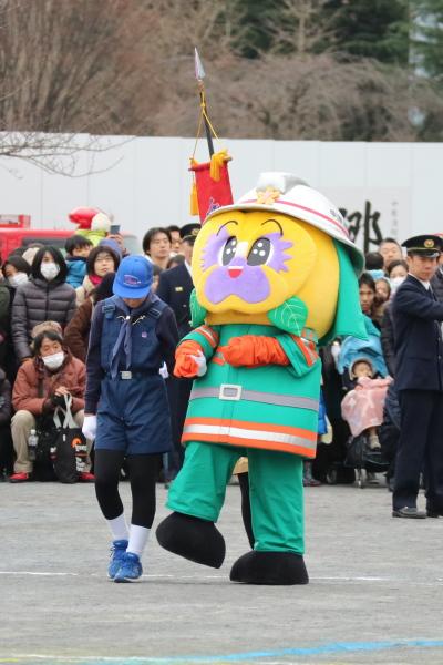 中原消防団のマスコットキャラクター「翔太」