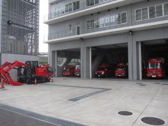 中原消防署に配備されている車両