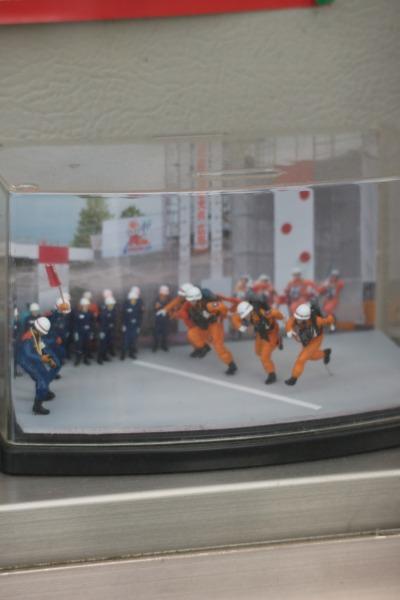 消防隊員の訓練