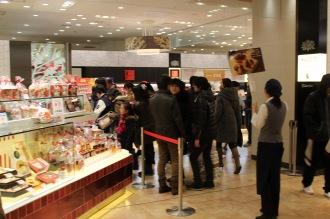 武蔵小杉東急スクエアの行列