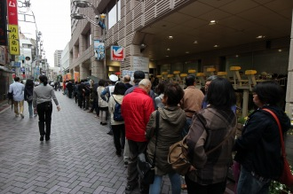 イトーヨーカドー武蔵小杉駅前店の行列