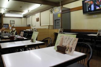 「増田屋」の店内