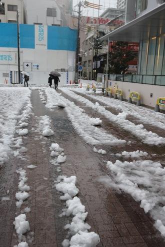 雪かきルート