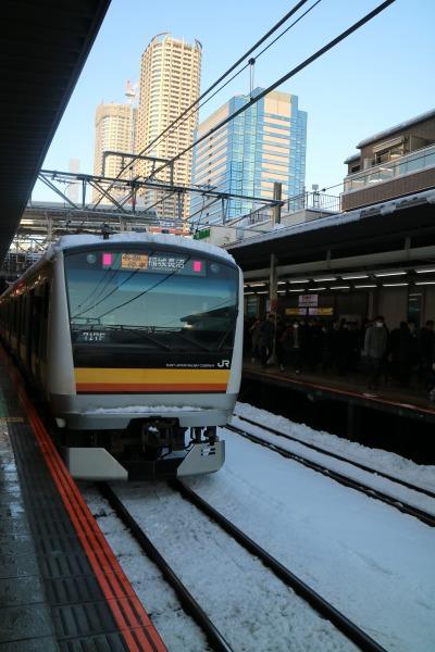 武蔵小杉駅に入線した南武線