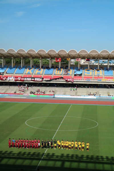早慶サッカー女子定期戦