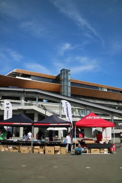 「早慶サッカー定期戦」が開催された等々力陸上競技場