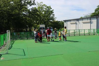 子供向けのサッカー教室