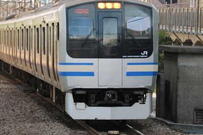 15両編成の横須賀線