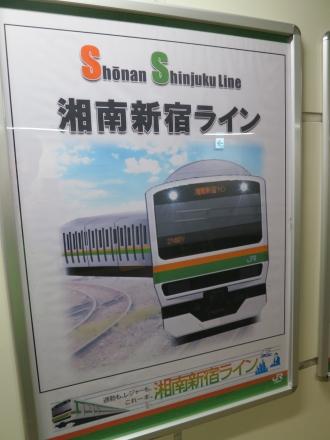 「Shonan Shinjuku Line 湘南新宿ライン」