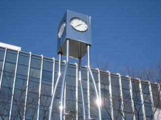 北口ロータリーの時計
