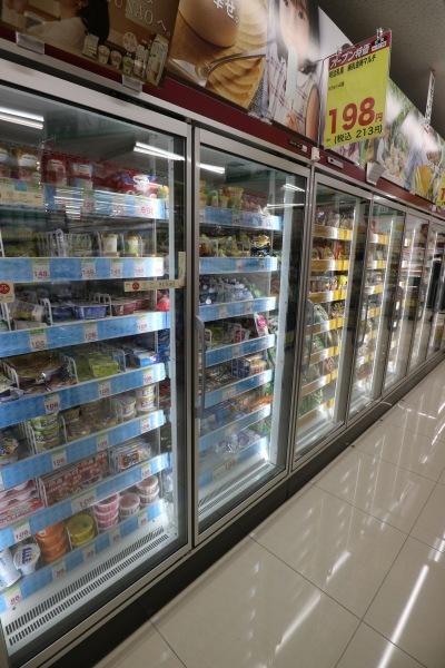 冷凍食品売り場