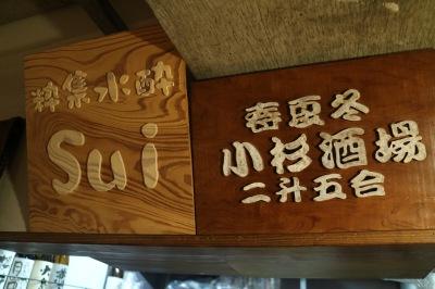 「小杉酒場」時代の看板