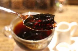 「SHIBA COFFEE」のコーヒーゼリー