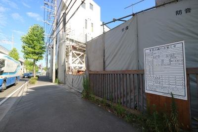近隣のマンション開発
