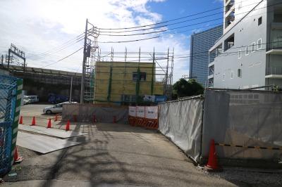 リッチモンドホテルプレミア武蔵小杉そばに建設中の「川崎バルブ」新事務所