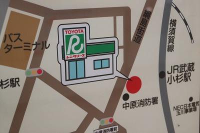武蔵小杉駅コンコースのオープン告知