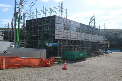 川崎バルブの新事務所の建物