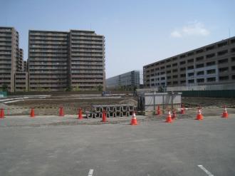 SUUMO武蔵小杉住宅展示場工事現場