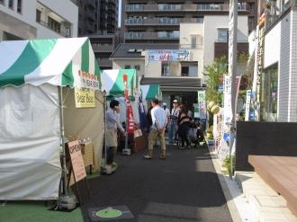 「かわさきフードフェスタ2013」の会場