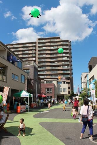 「SUUMO武蔵小杉住宅展示場」の秋祭り