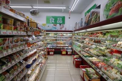 食品売り場