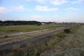 「多摩川スピードウェイ」の跡地