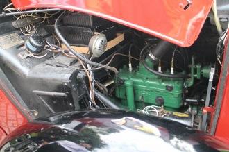 高い技術力の結晶、「オオタ号」のエンジン