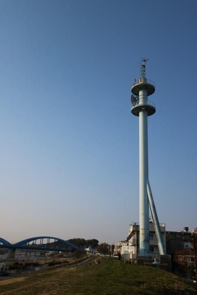 京浜河川事務所と丸子橋