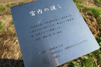 「宮内の渡し」の記念碑の説明