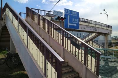 古市場小学校前の歩道橋