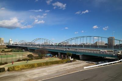 同じく多摩川大橋
